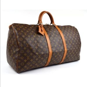 550e68b80da3 Louis Vuitton Bags - Vintage Louis Vuitton keepall 60 Boston Bag